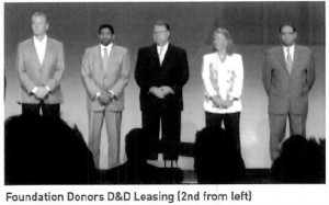D&D Leasing a Foundation donor at 52nd ELFA Convention
