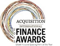 Acquisition International Finance Awards 2013