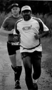 Bill Dost running in ENDURrun marathon