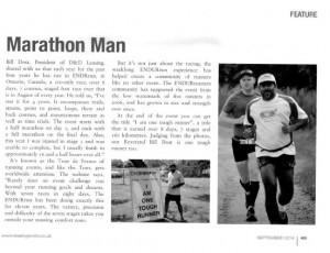 Marathon man article
