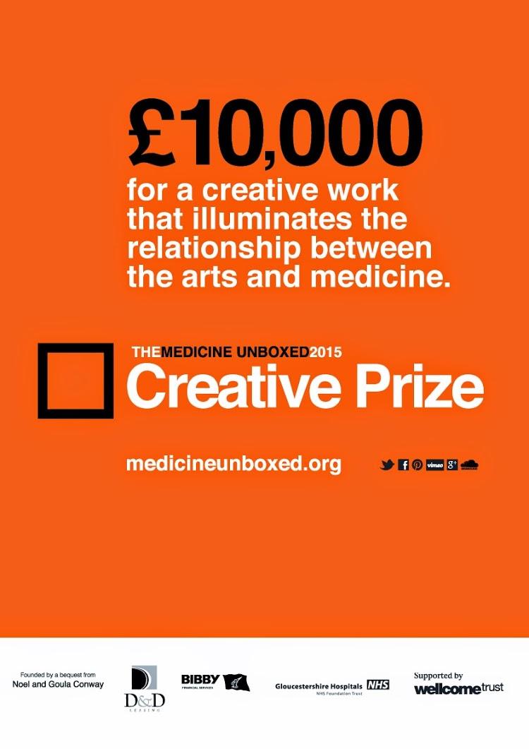 2015 creative prize poster