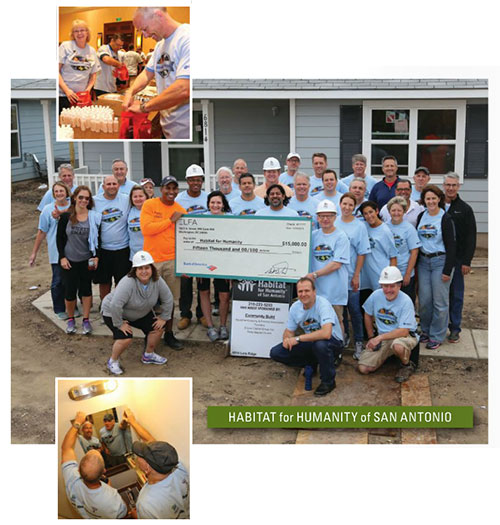 Habitat for Humanity San Antonio project