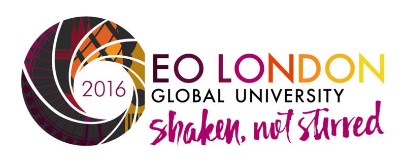 Shaken, Not Stirred - EO London event logo