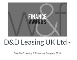 D&D Leasing wins W&F award