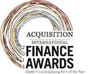 Acquisition International Finance Awards 2013