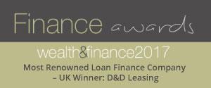 Most renowned loan finance company award 2017