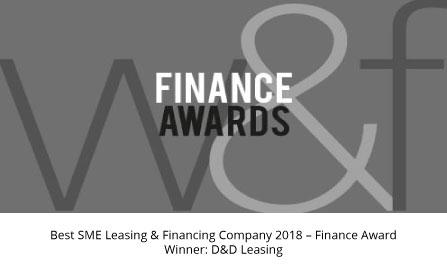 W&F award winner D&D Leasing 2018