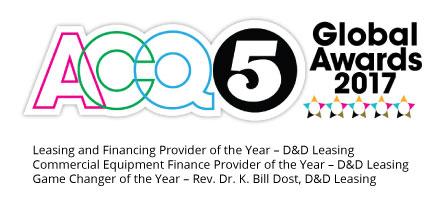 ACQ5 winner logo 2017 D&D Leasing