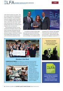 ELFA Members Giving back 2019